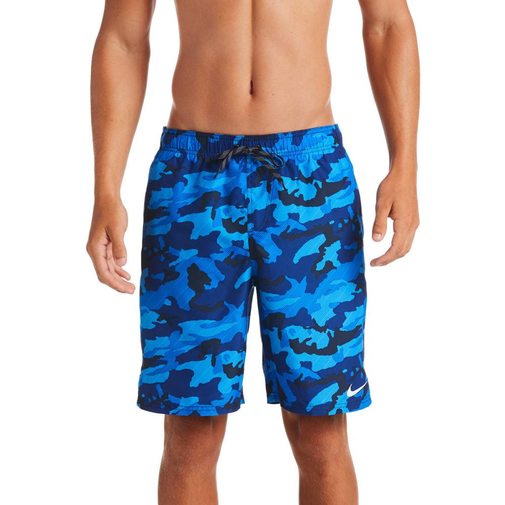 """NIKE Men's Camo Vital 9"""" Swim Trunks - 489 OBSIDIAN"""