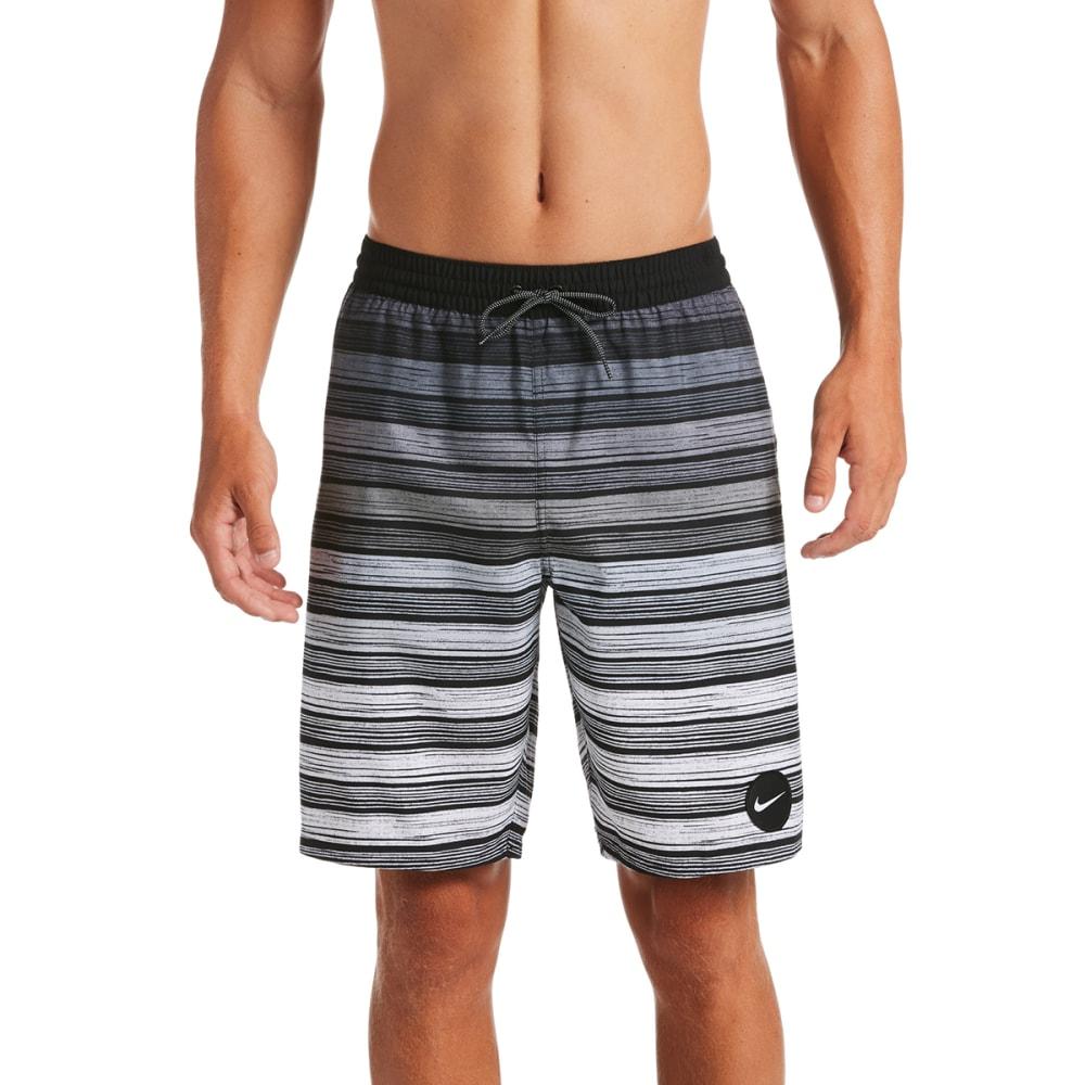 """NIKE Men's Striped Breaker 9"""" Volley Swim Shorts XL"""