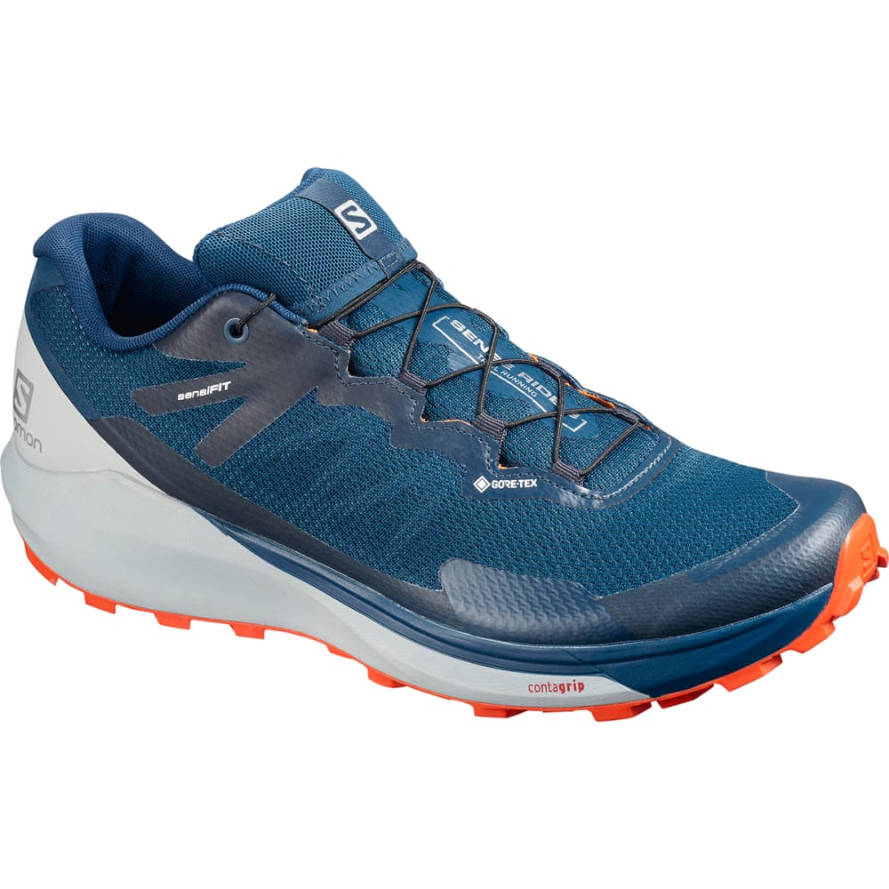 SALOMON Men's Sense Ride 3 GTX Waterproof Trail Running Shoes 9