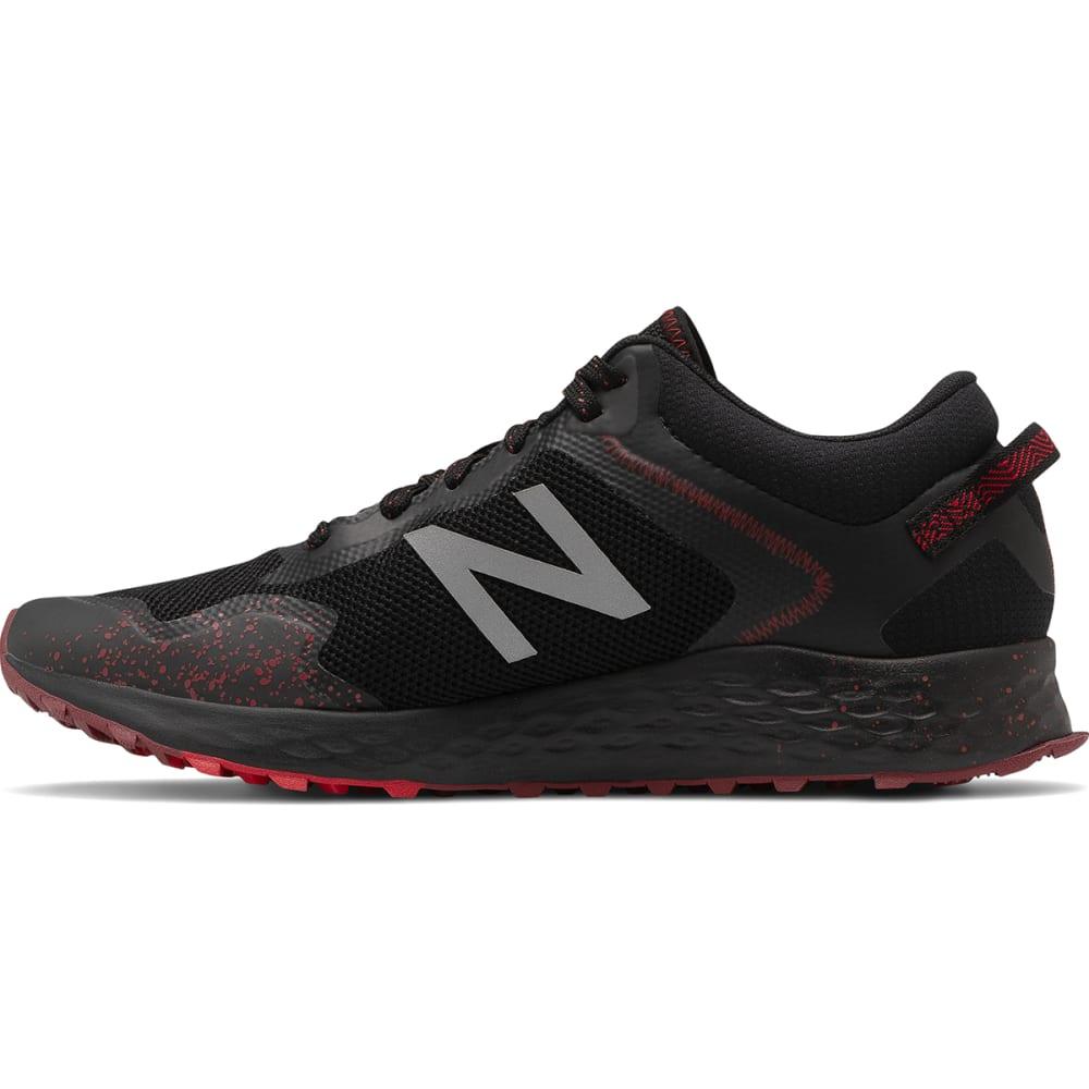 NEW BALANCE Men's Fresh Foam Arishi Trail Running Shoe - BLK/RED-MTARISN1
