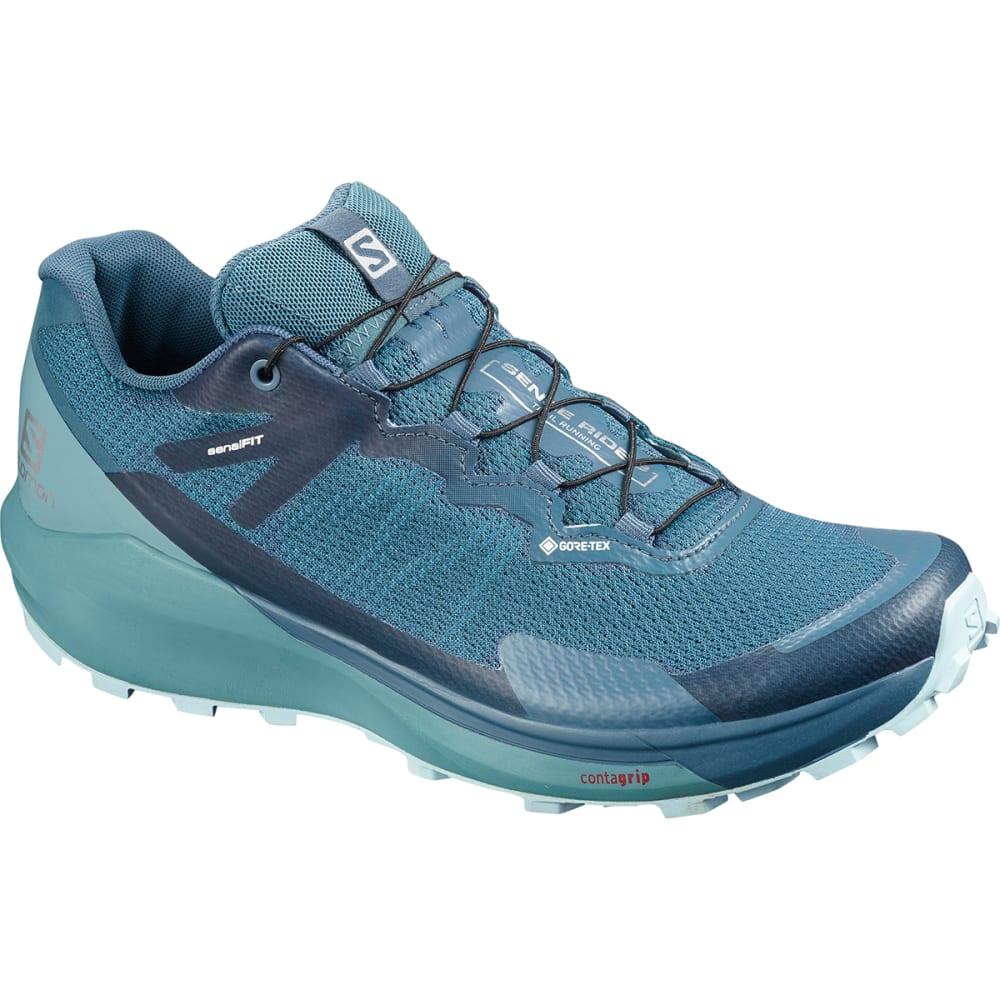 SALOMON Women's Sense Ride GTX Invisible Fit Trail Running Shoe 6