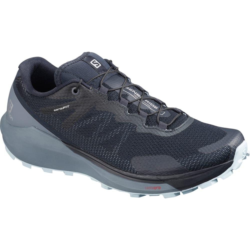 SALOMON Women's Sense Ride 3 Trail Running Shoe - NAVY BLAZER