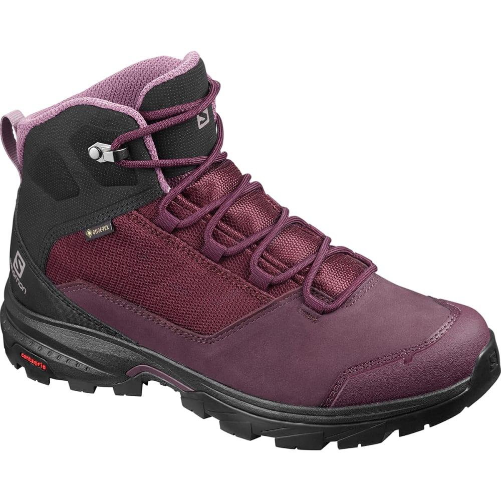 SALOMON Women's Outward GTX Waterproof Hiking Boots 6