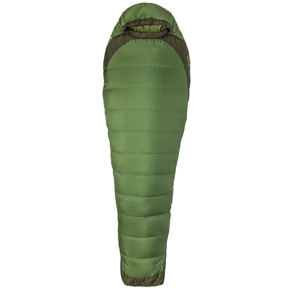 MARMOT Marmot Trestles Elite Eco 30 Sleeping Bag, Long - VINE GREEN/FOREST NT