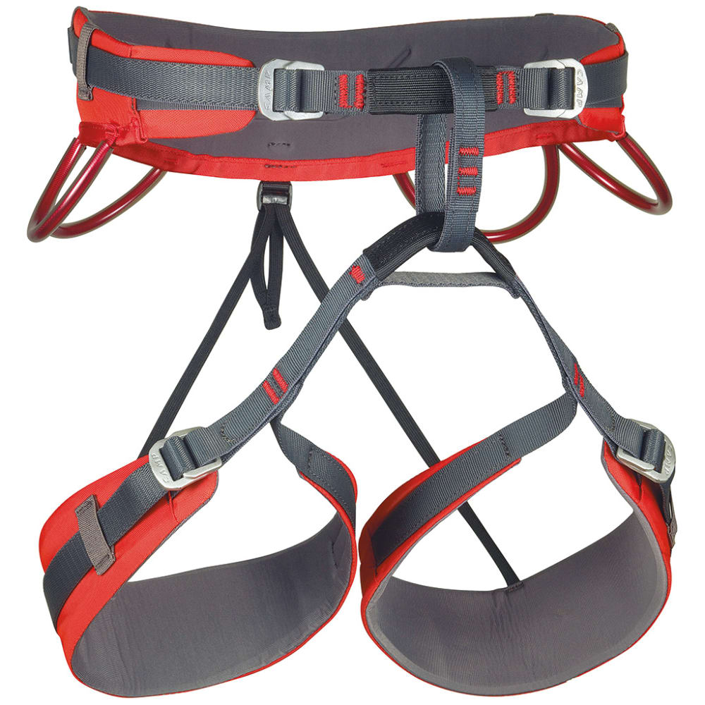 CAMP Energy CR 4 Rock Climbing Harness - RED