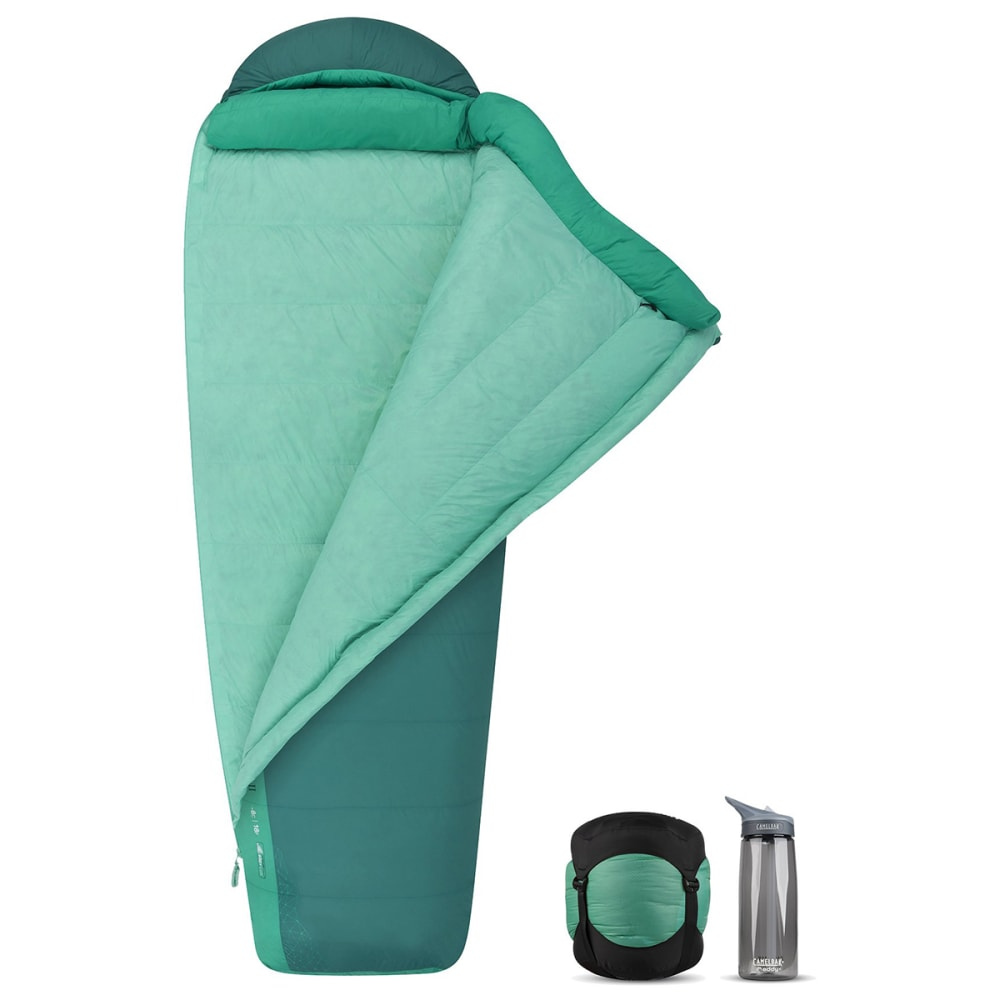 SEA TO SUMMIT Women's Journey Down 30° Sleeping Bag - GREEN