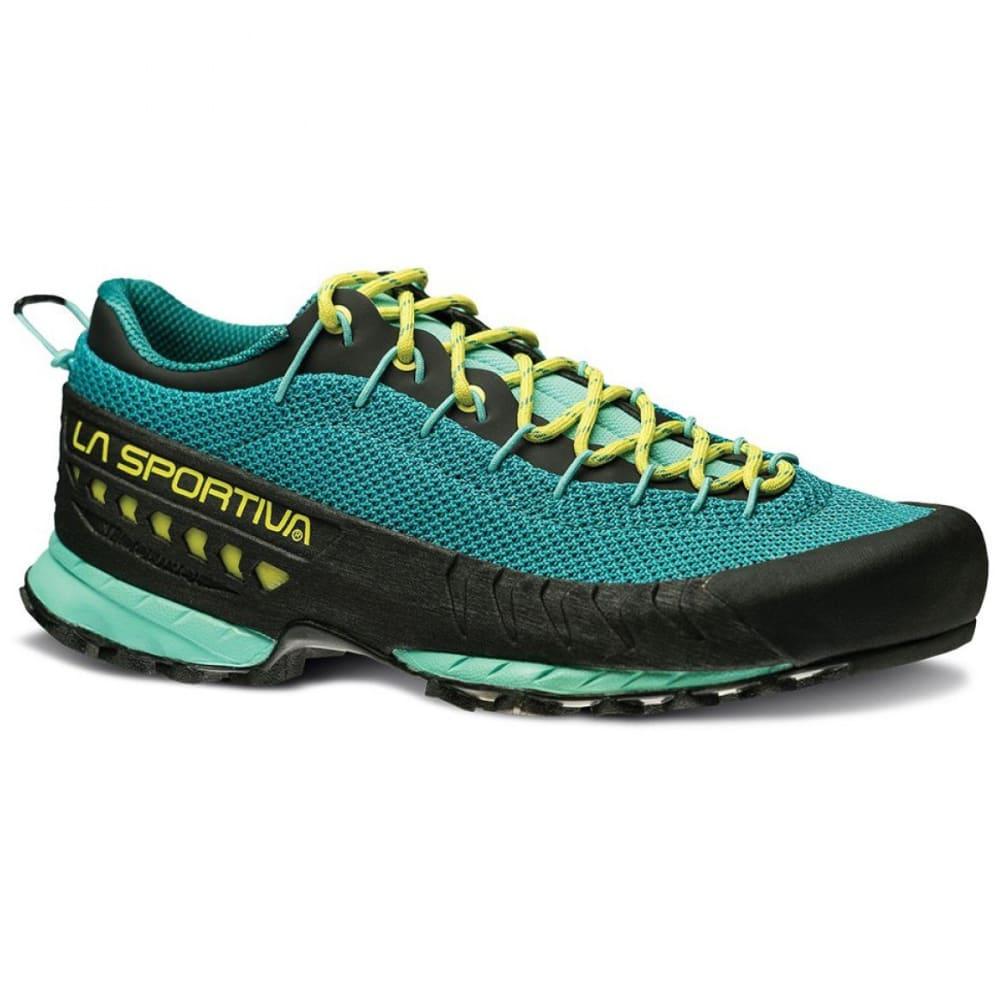 LA SPORTIVA Women's TX3 Climbing Shoes - EMERALD/MINT