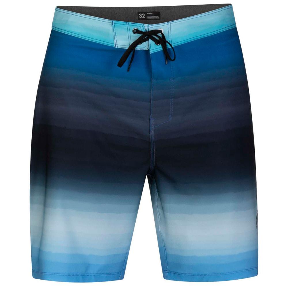 HURLEY Men's Phantom Spray Blend 20-Inch Swim Boardshorts 32