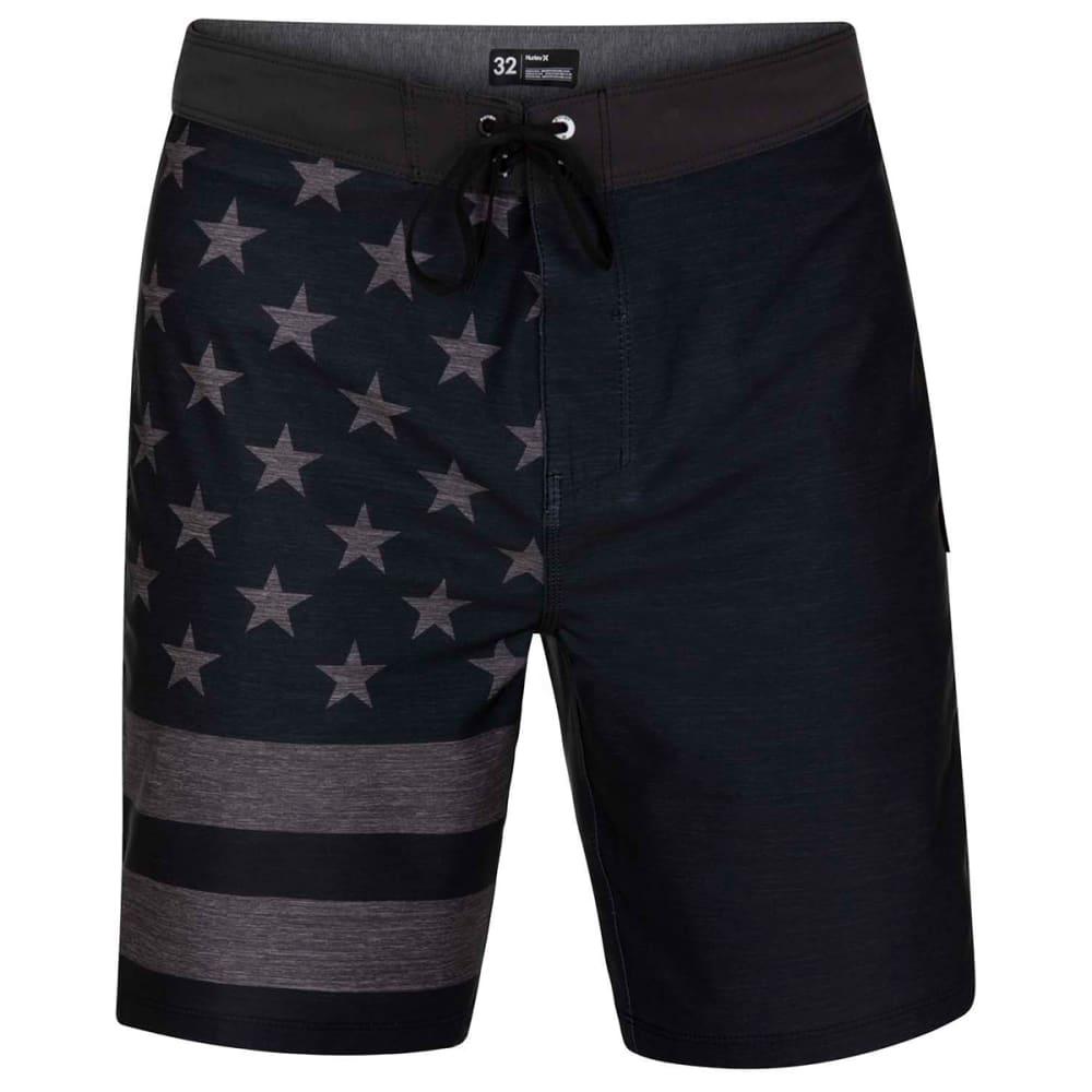 """HURLEY Men's  Phantom Patriot 20"""" Board Shorts 30"""