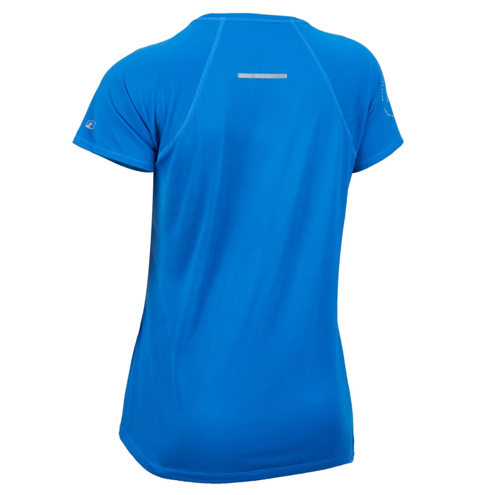 EMS Women's White Mountain Trail Collective Limited Edition Short-Sleeve Tee - BALIENE BLUE