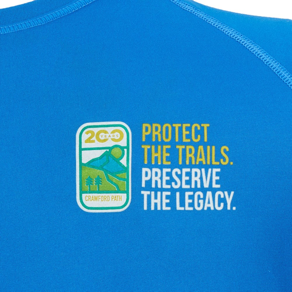 EMS x White Mountain Trail Collective Women's Limited Edition Short-Sleeve Tee - BALIENE BLUE