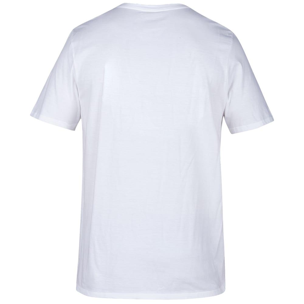 HURLEY Men's Short-Sleeve Premium Offshore Tee - 100WHITE
