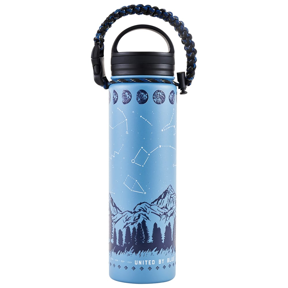 UNITED BY BLUE Insulated Steel 22 oz Water Bottle - STARGAZER
