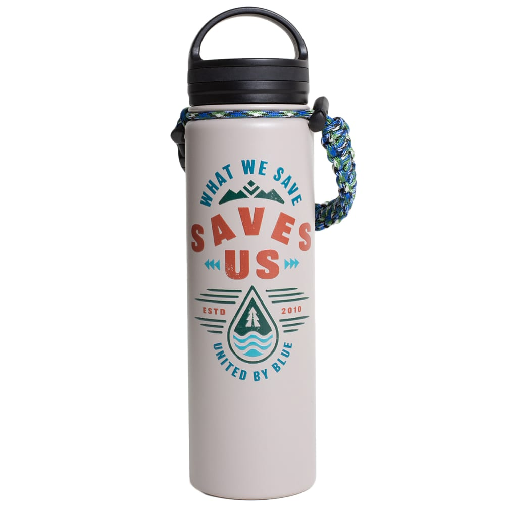UNITED BY BLUE Insulated Steel 22 oz Water Bottle NO SIZE