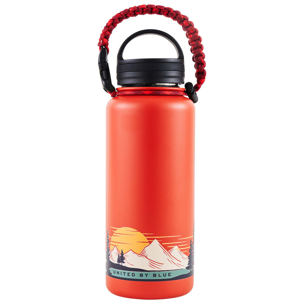 UNITED BY BLUE Insulated Steel 32 oz Water Bottle - SUN MOUNTAIN