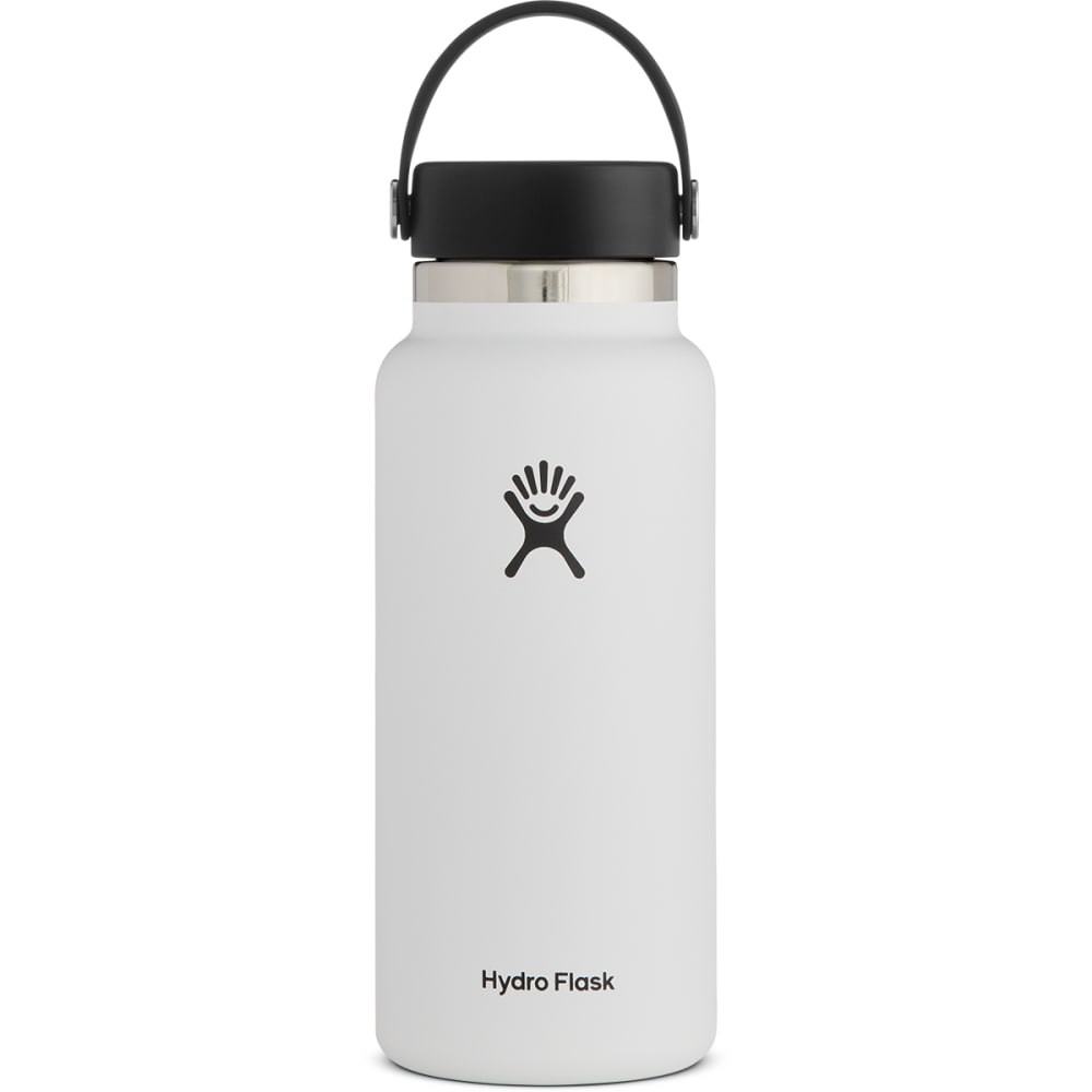 HYDRO FLASK Wide Mouth 32 oz. Bottle - WHITE