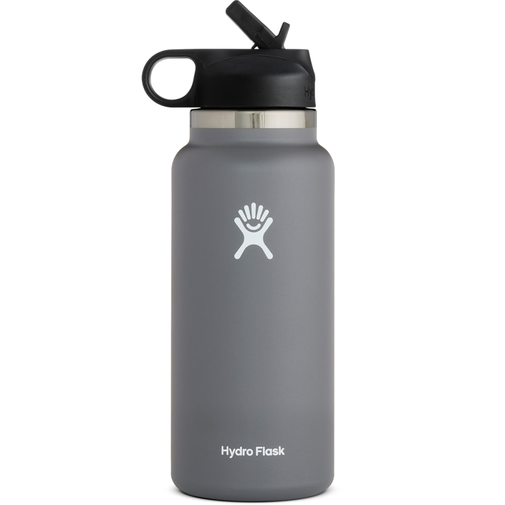 HYDRO FLASK 32oz. Wide Mouth Bottle with Straw Lid NO SIZE