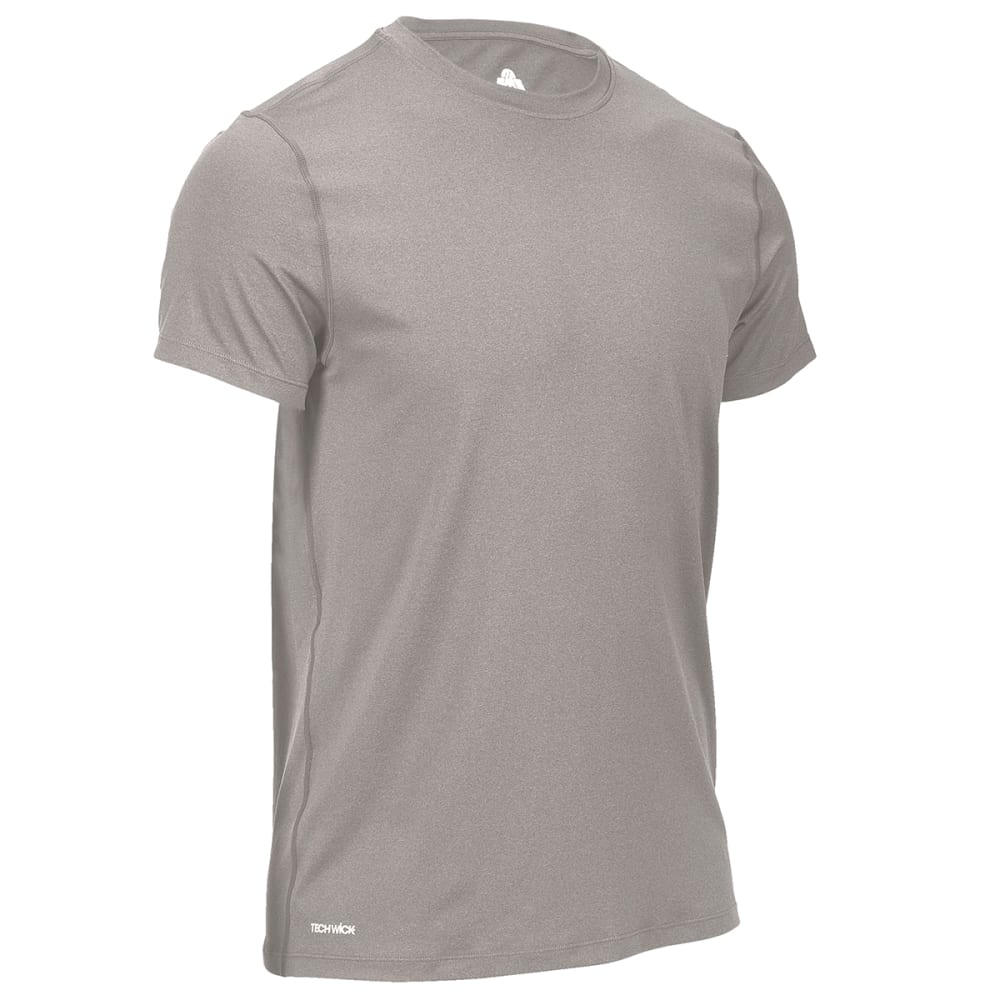 EMS Men's Essential Peak Short-Sleeve Crew - DECEMBER SKY