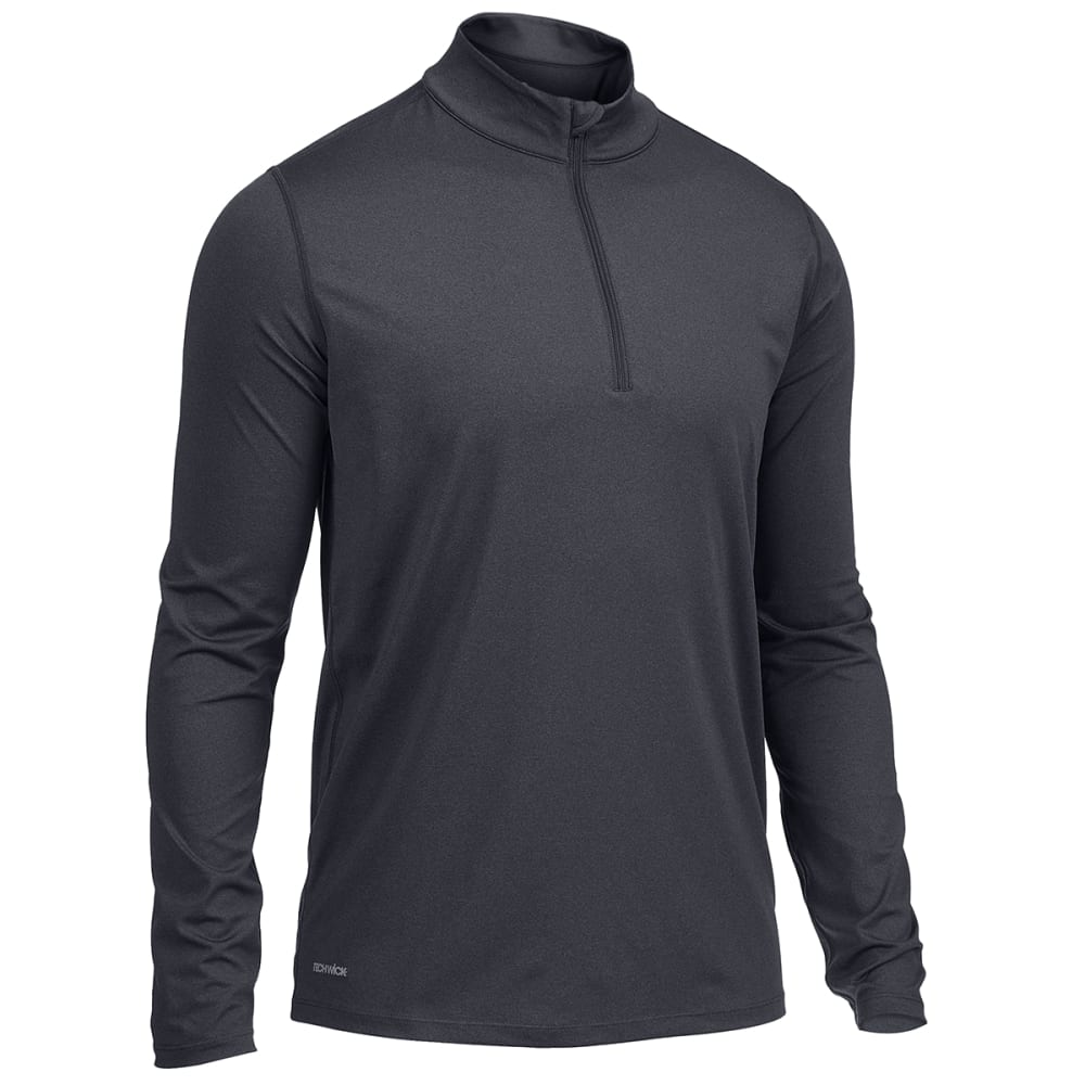 EMS Men's Long-Sleeve Essential Peak Quarter-Zip Technical Top S