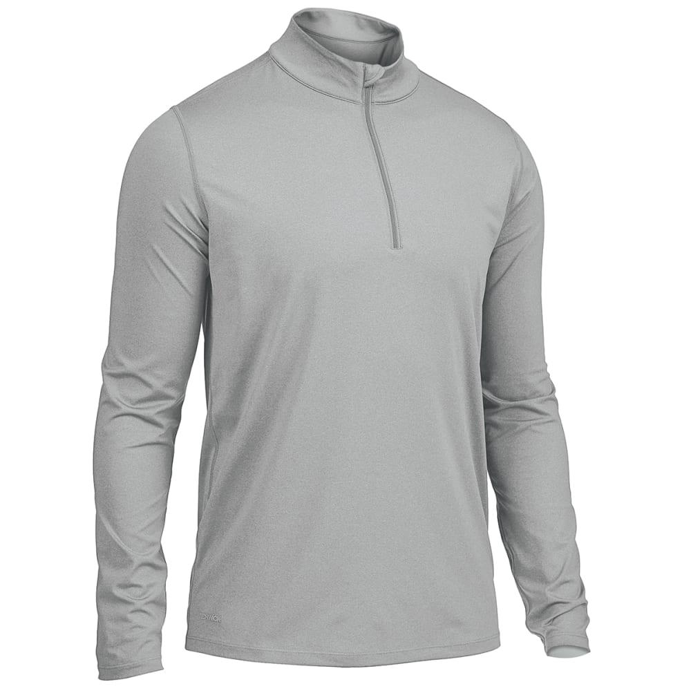 EMS Men's Long-Sleeve Essential Peak Quarter-Zip Technical Top - HIGH RISE
