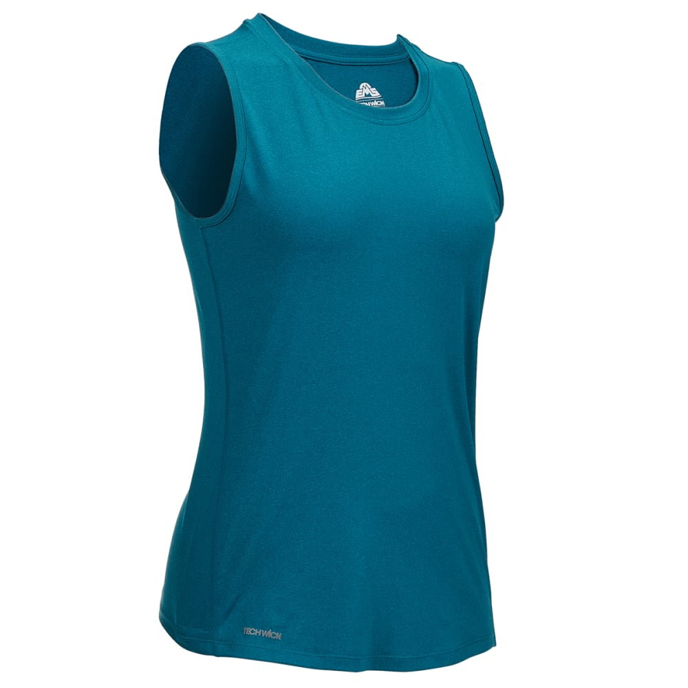 EMS Women's Essence Peak Muscle Tank Top - DEEP LAGOON