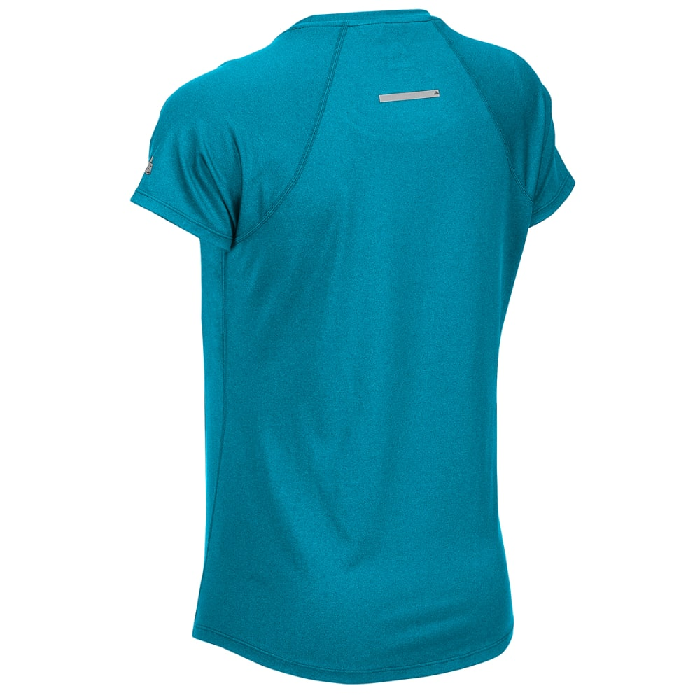 EMS Women's Essence Peak Short-Sleeve Tee - DEEP LAGOON