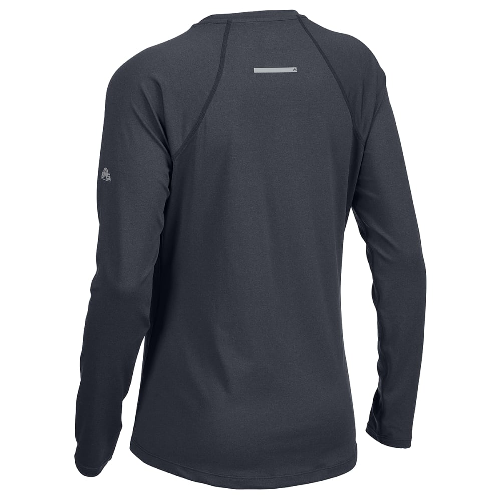EMS Women's Essence Peak Long-Sleeve Tee - ANTHRACITE