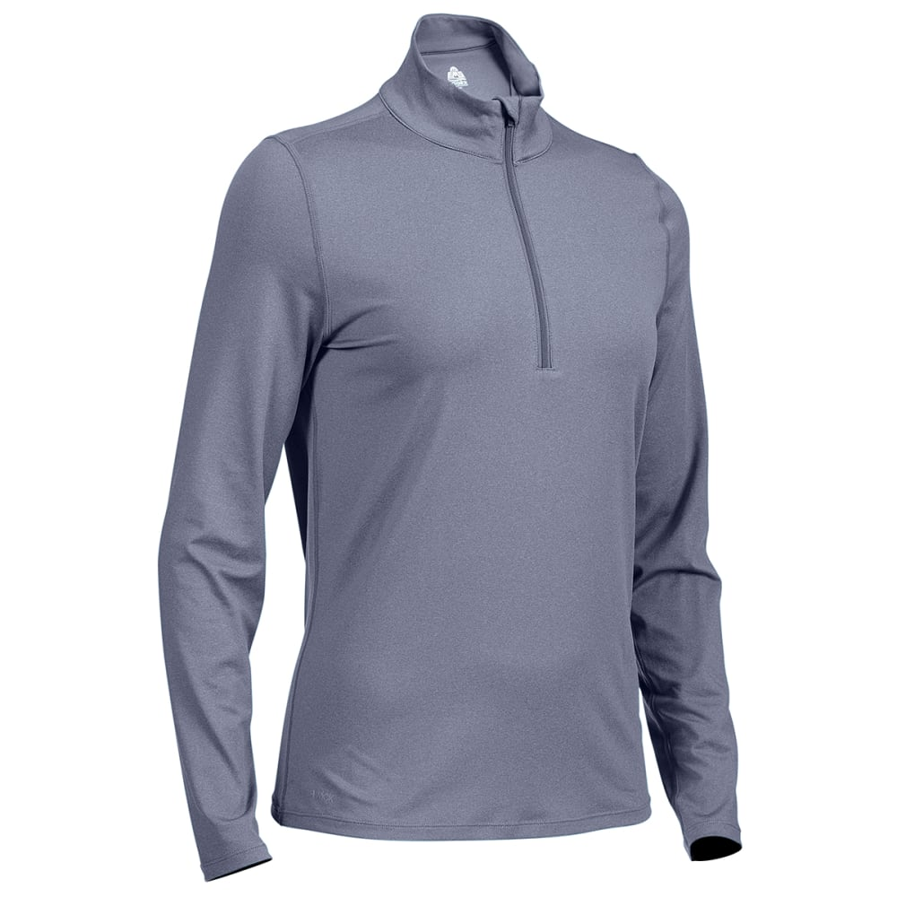 EMS Women's Long-Sleeve Essence Peak Quarter-Zip Technical Top - Size XL