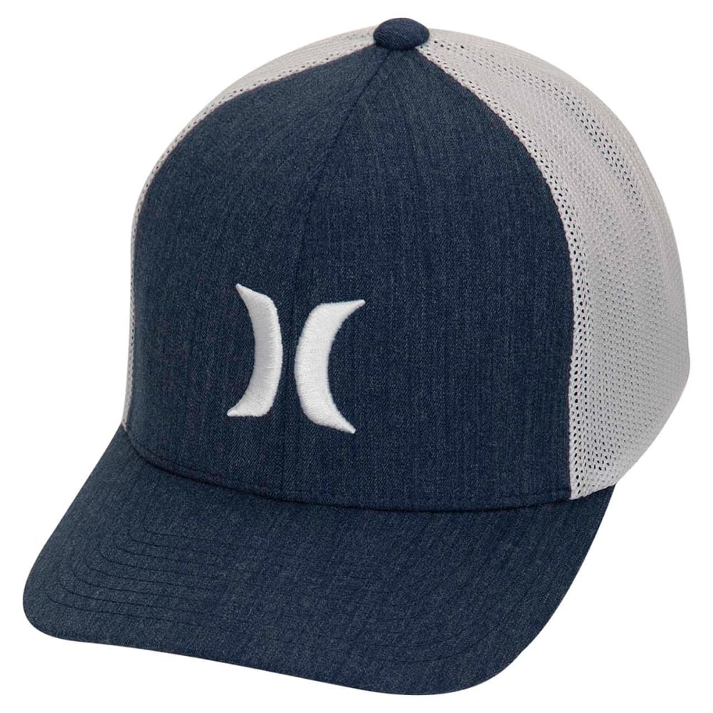 HURLEY Men's Icon Textures Hat - 451 OBSIDIAN