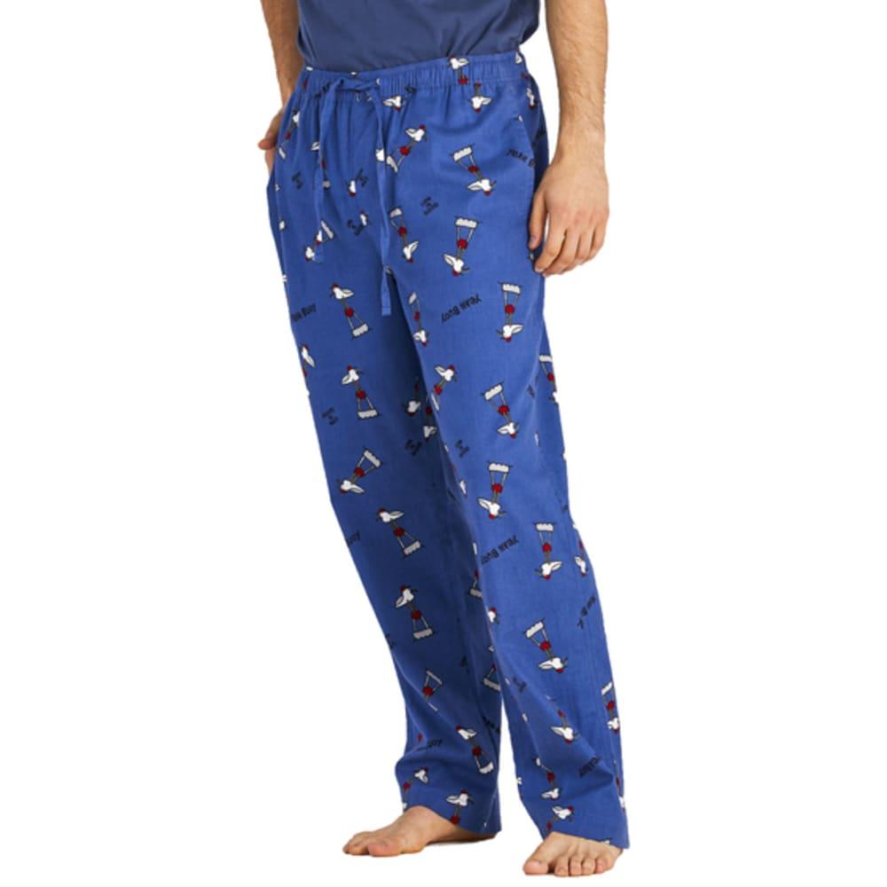 LIFE IS GOOD Men's Classic Sleep Pant - VINTAGE BLUE
