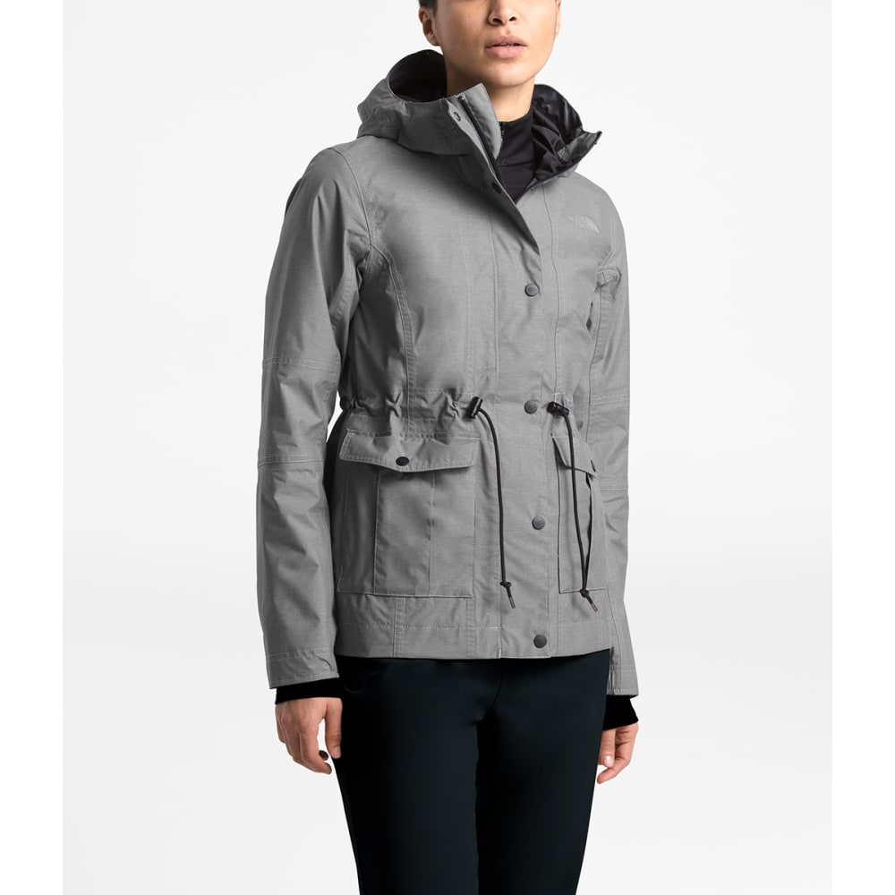 THE NORTH FACE Women's Zoomie Jacket - DYY- MED GREY HTHR