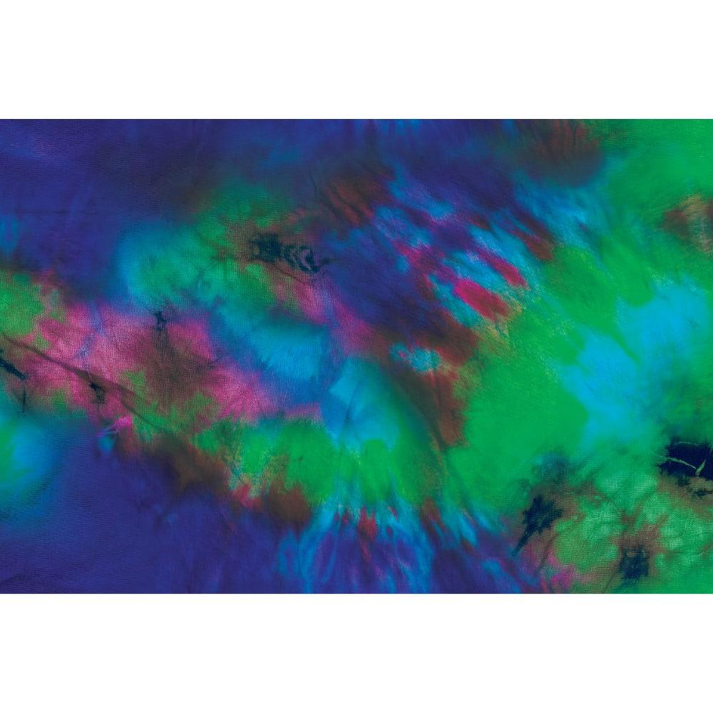 ENO Doublenest Hops Print Hammock - TYE DYE BLUE