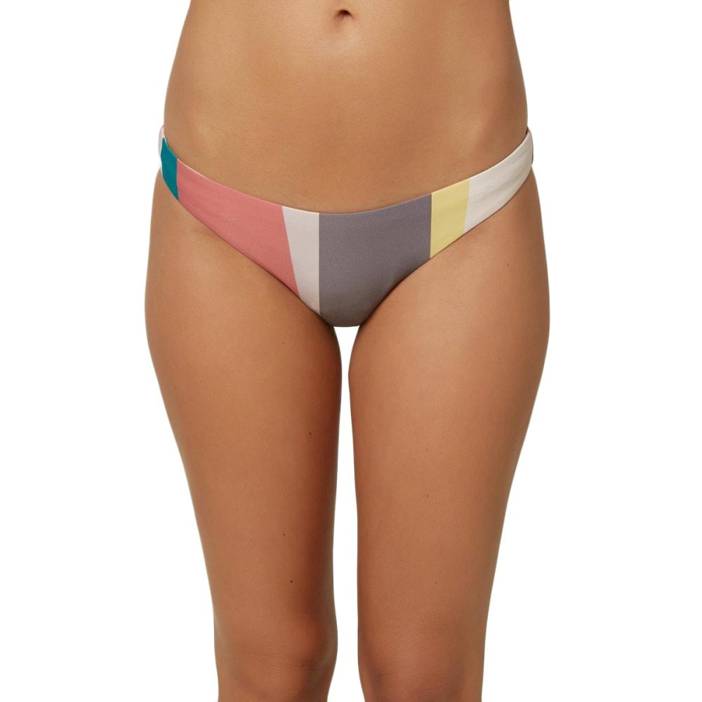 O'NEILL Juniors' Sapa Stripe Classic Swim Bottoms - MAUVE