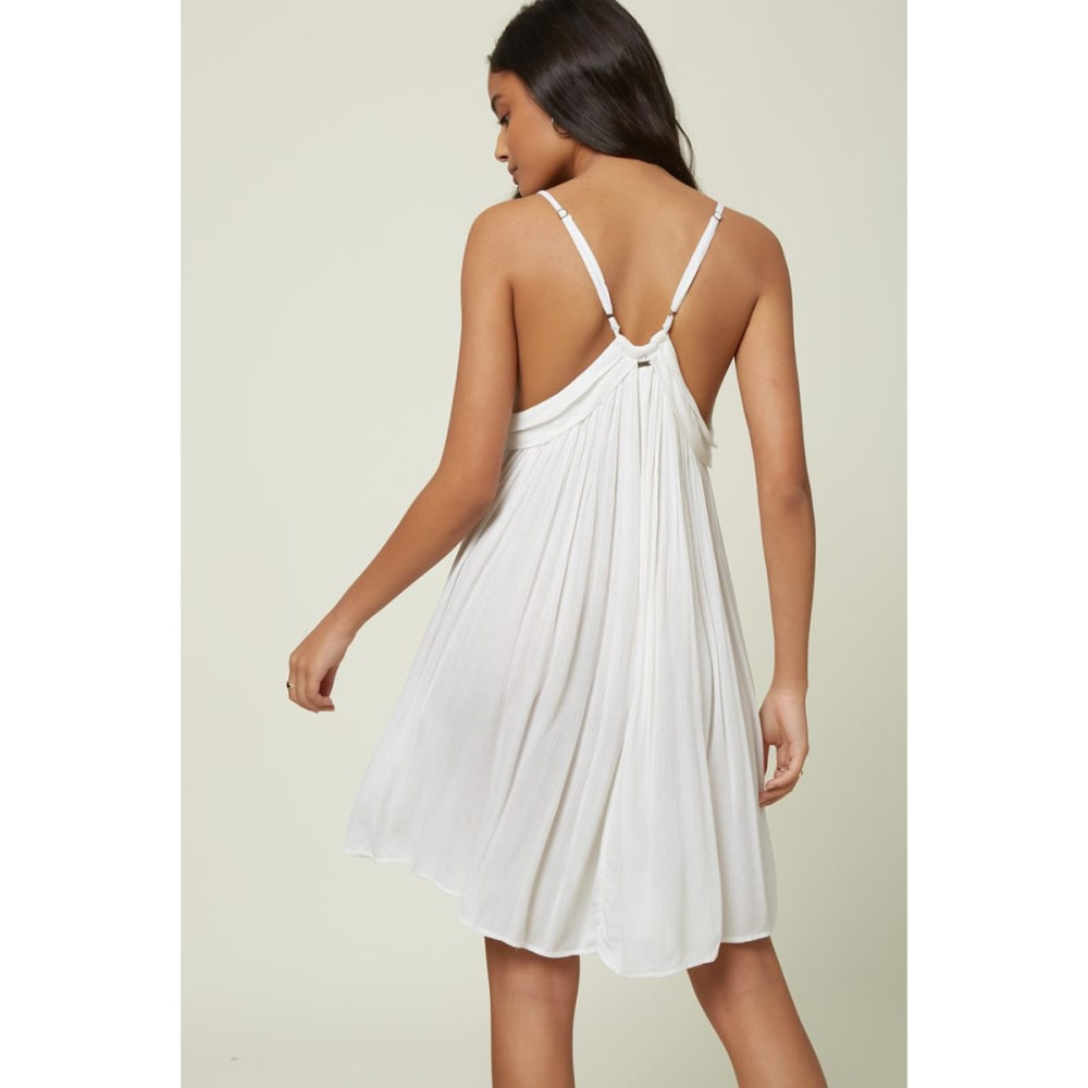 O'NEILL Juniors' Saltwater Solids Cover Up Tank Dress - WHITE