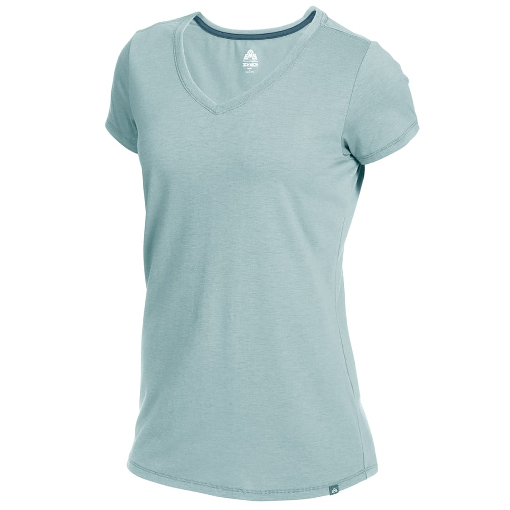 EMS Women's Vital Peak Short-Sleeve V-Neck Tee S