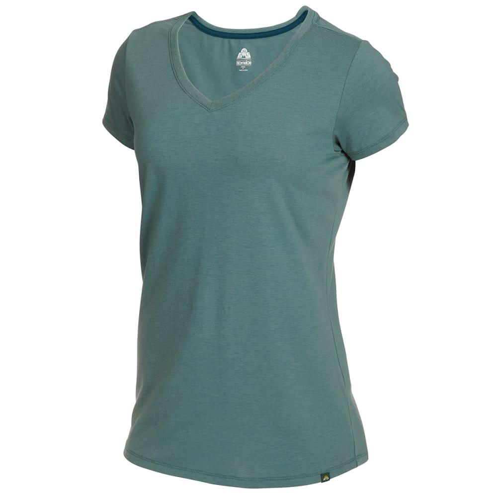 EMS Women's Vital Peak Short-Sleeve V-Neck Tee XS