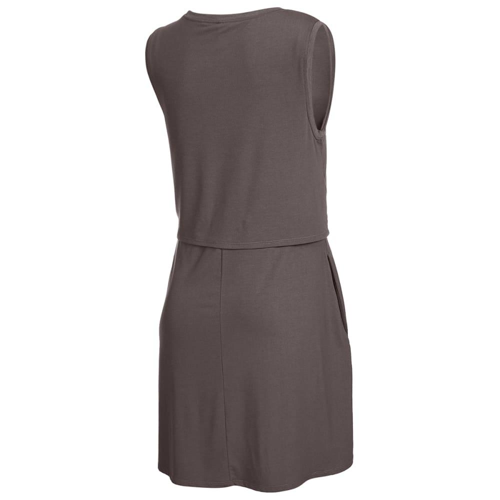 EMS Women's Highland Flounce Dress - PLUM KITTEN