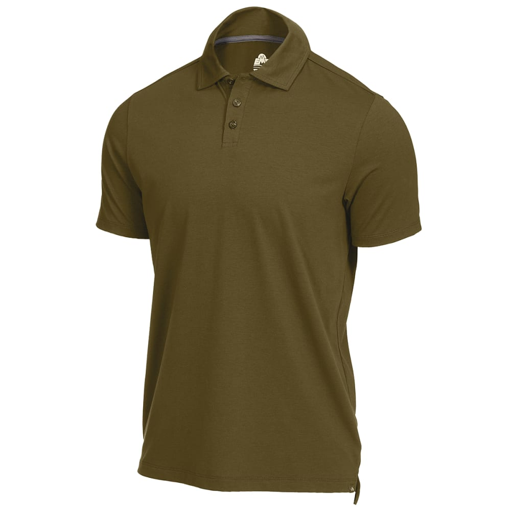 EMS Men's Vital Peak Polo - IVY GREEN