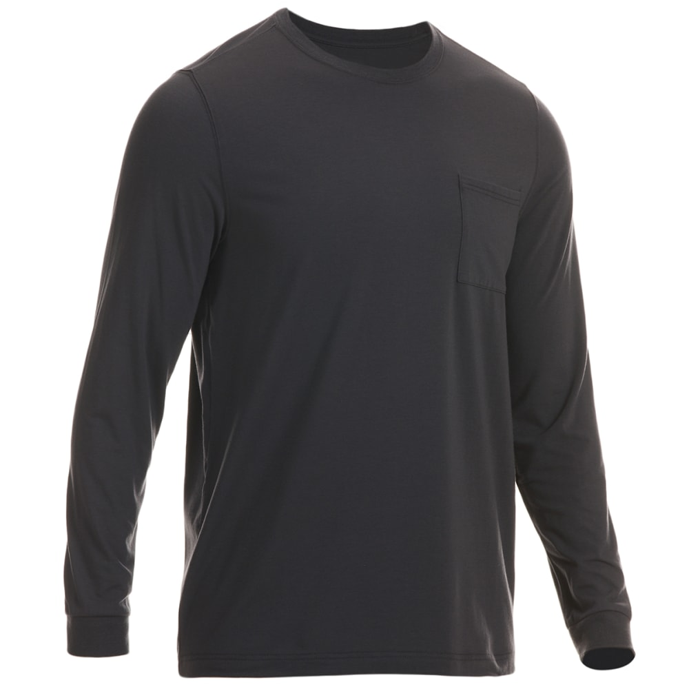 EMS Men's Vital Peak Long-Sleeve Tee - PHANTOM