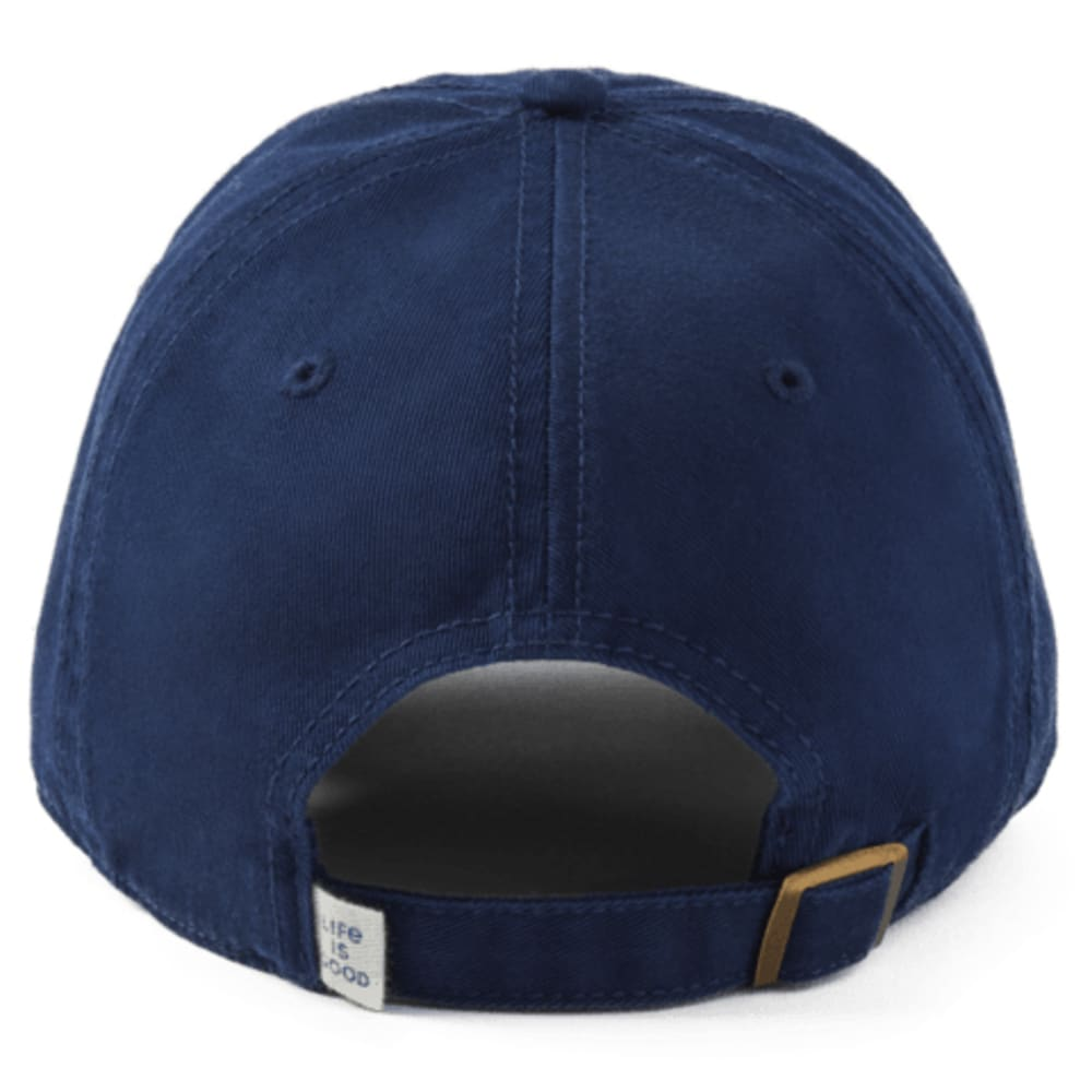LIFE IS GOOD Mountain Tattered Chill Cap - DARKEST BLUE