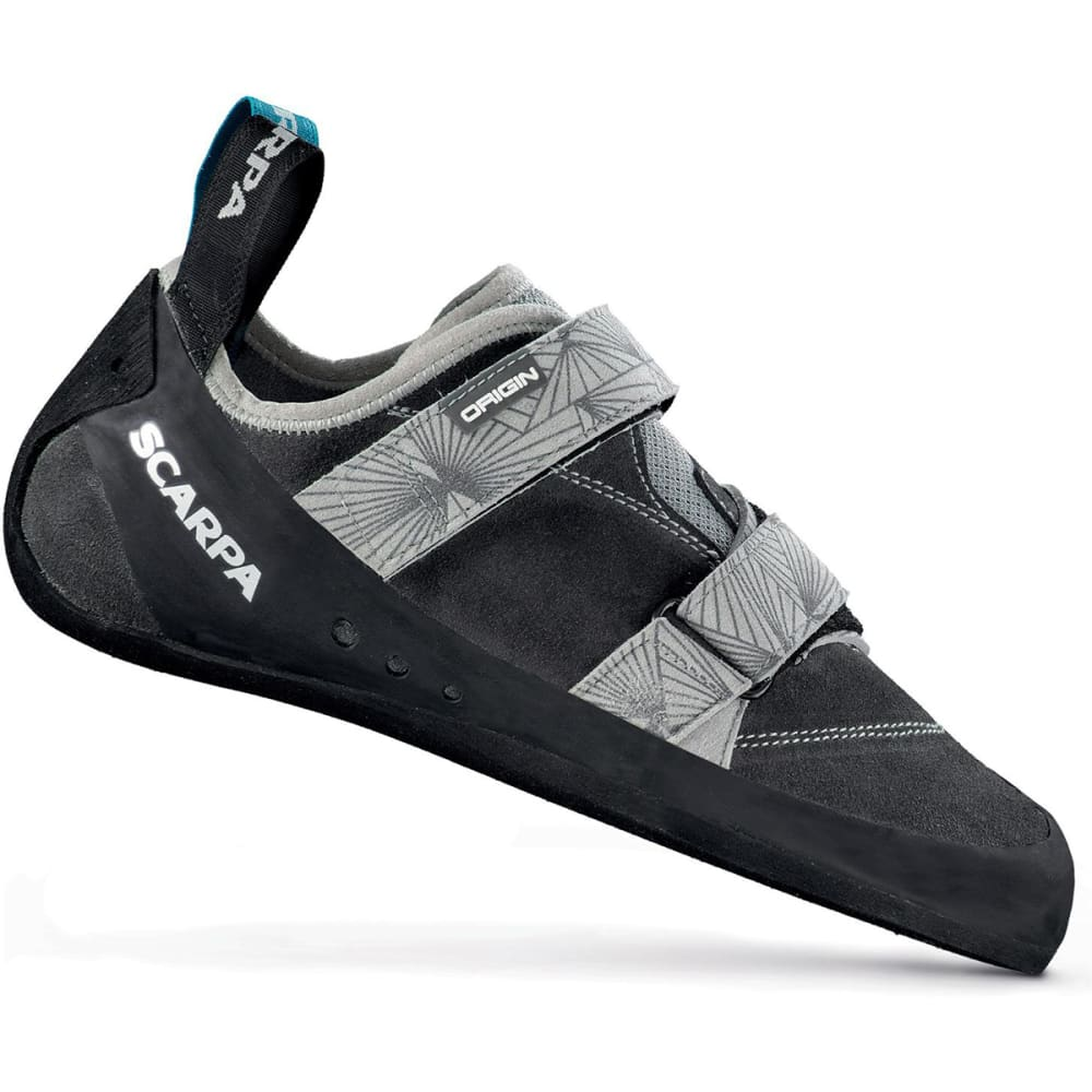 SCARPA Men's Origins Climbing Shoe - COVEY/BLACK