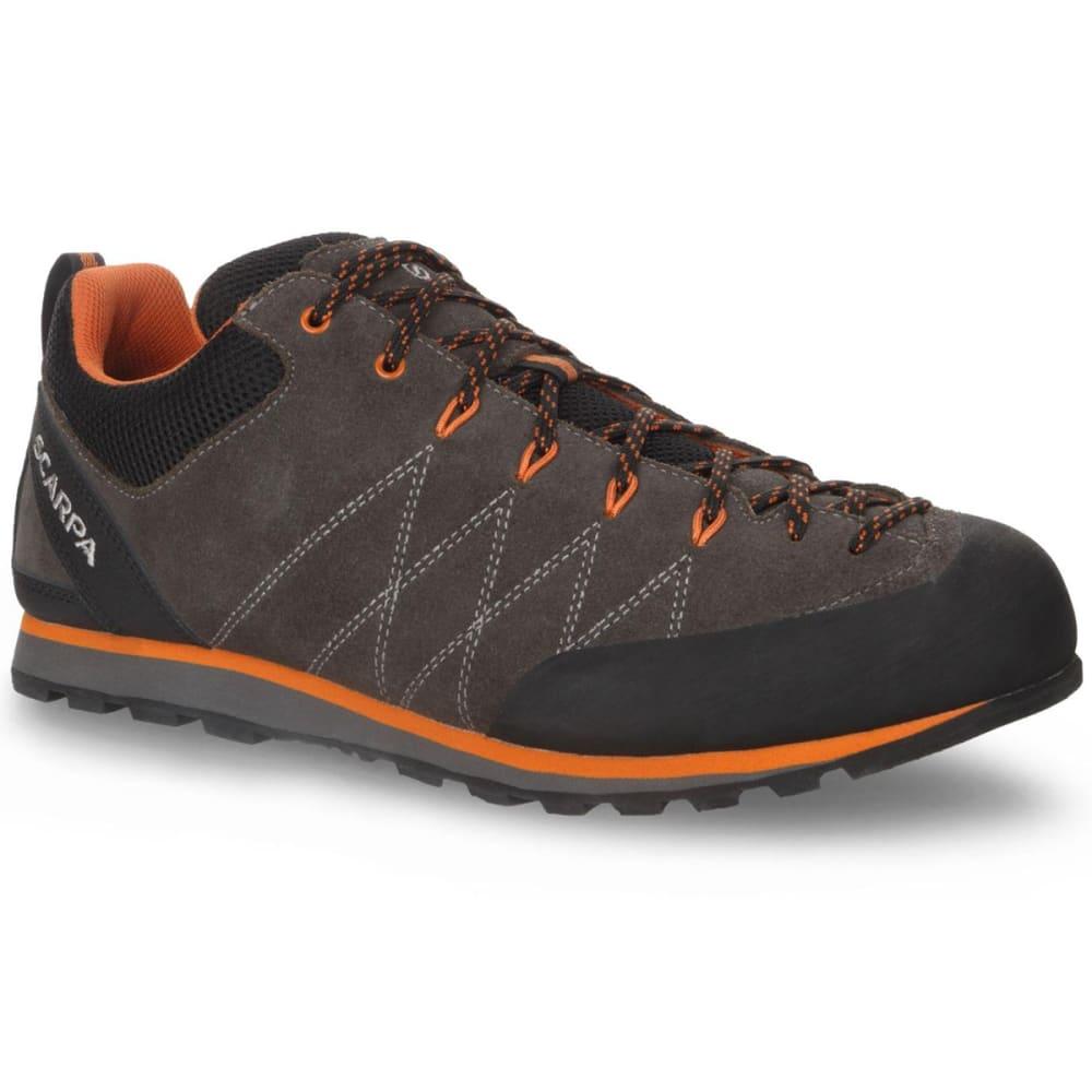 SCARPA Men's Crux Approach Hiking Shoes - SHARK/TONIC