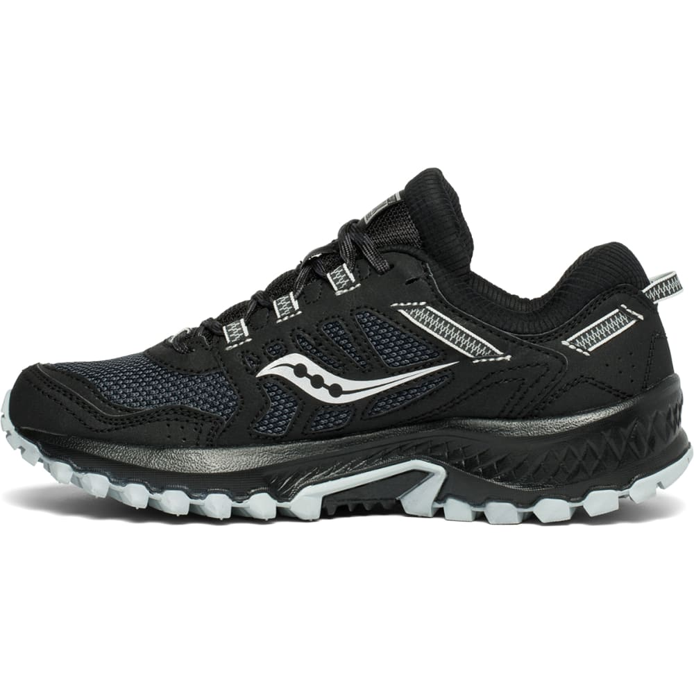 SAUCONY Women's Excursion TR13 Trail Running Shoe - BLACK-1