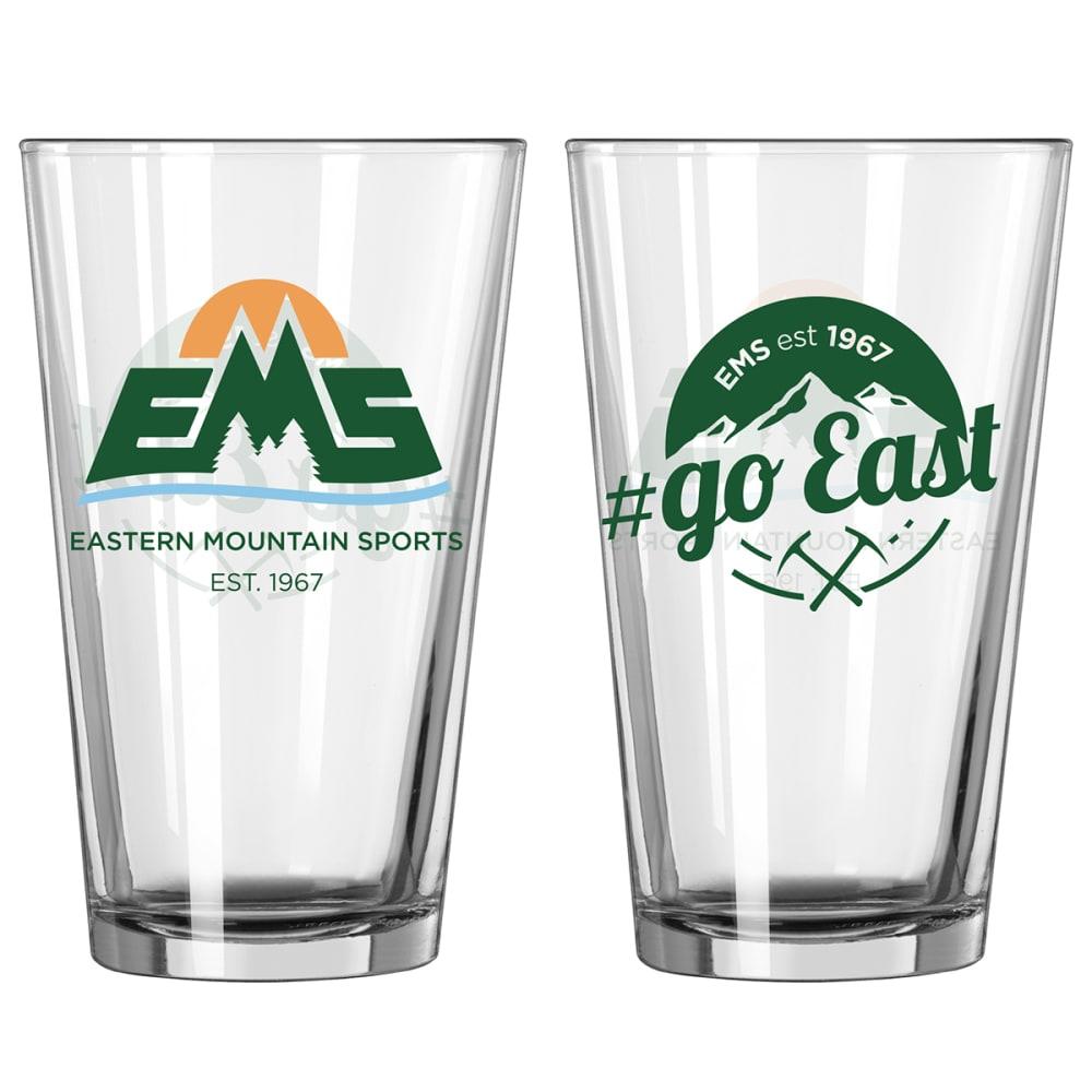 EMS 16 oz. Logo Pint Glass NO SIZE