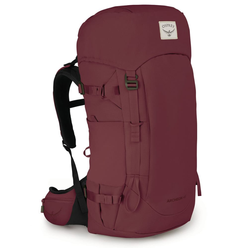 OSPREY Women's Archeon 45 Hiking Backpack - MUD RED