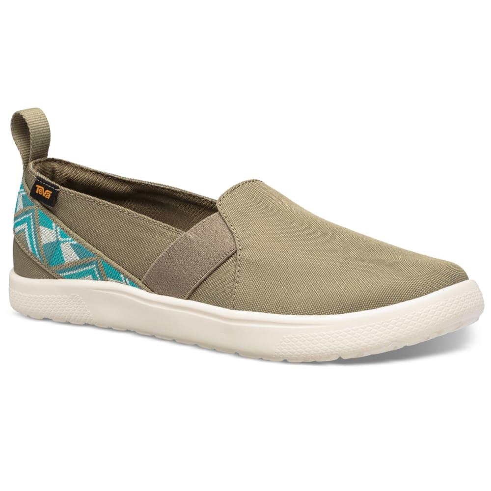TEVA Women's Voya Slip-On Shoe 6