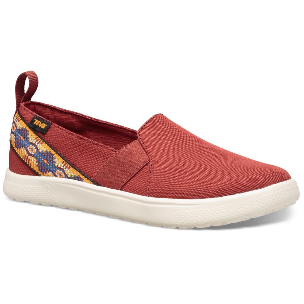 TEVA Women's Voya Slip-On Shoe 10