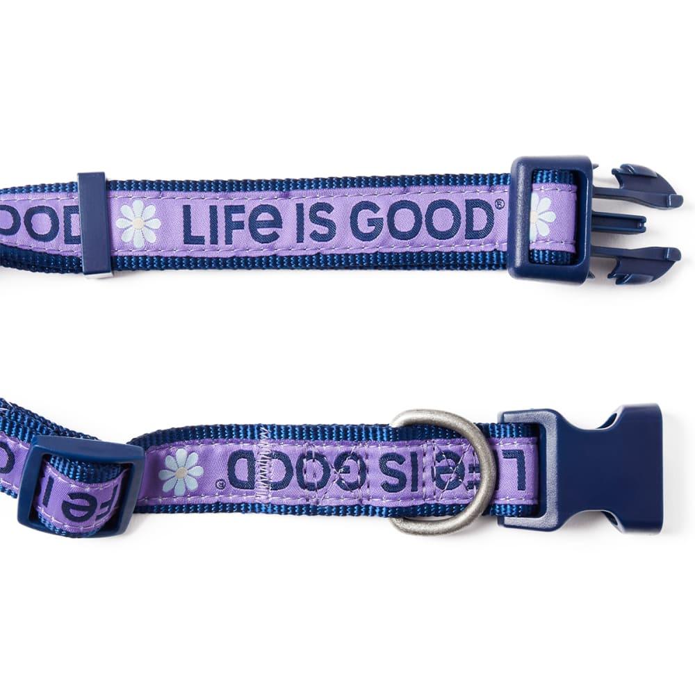 Life Is Good Daisy Dog Collar - MOONSTONE PURPLE