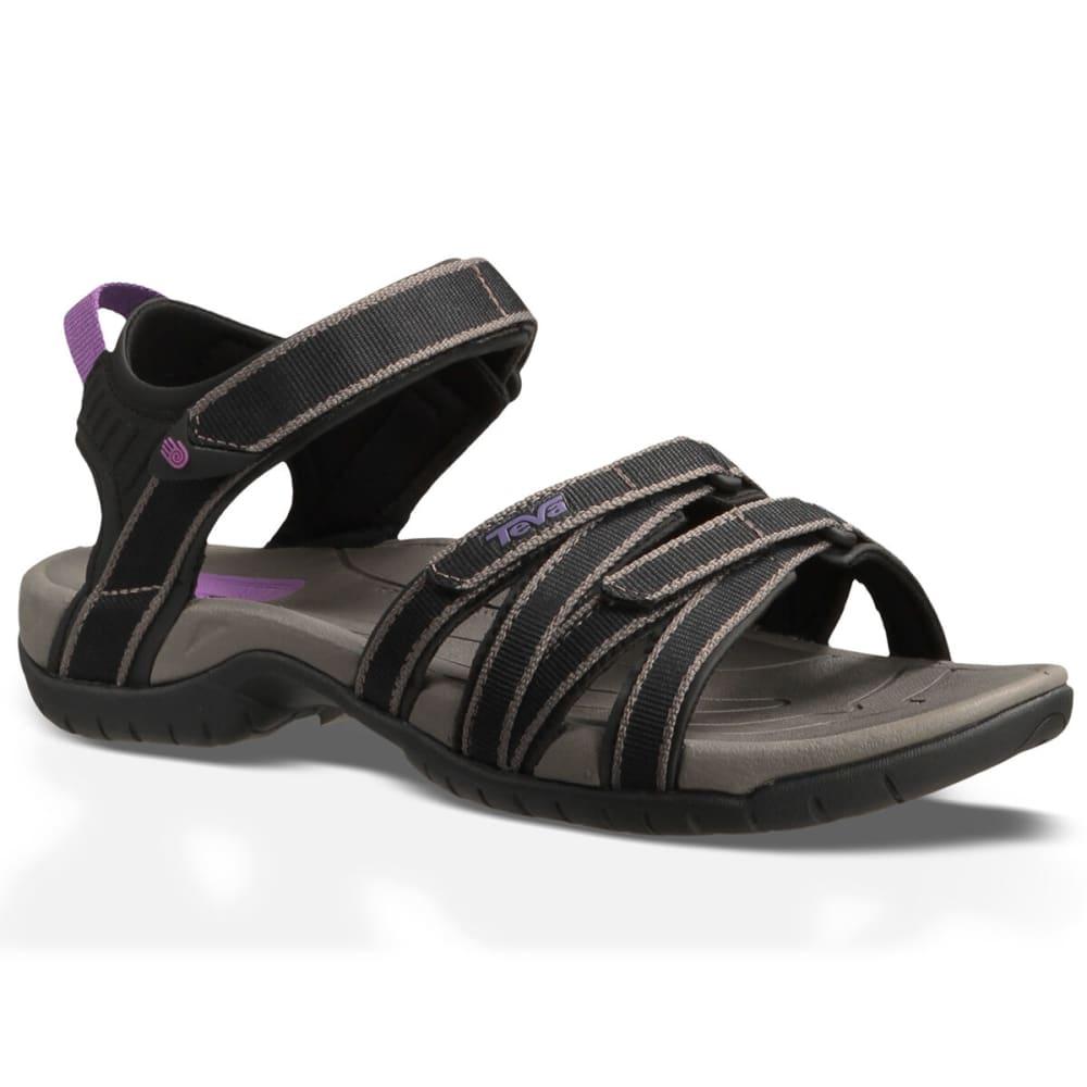 TEVA Women's Tirra Web Sandal - BLK/GRY-BKGY