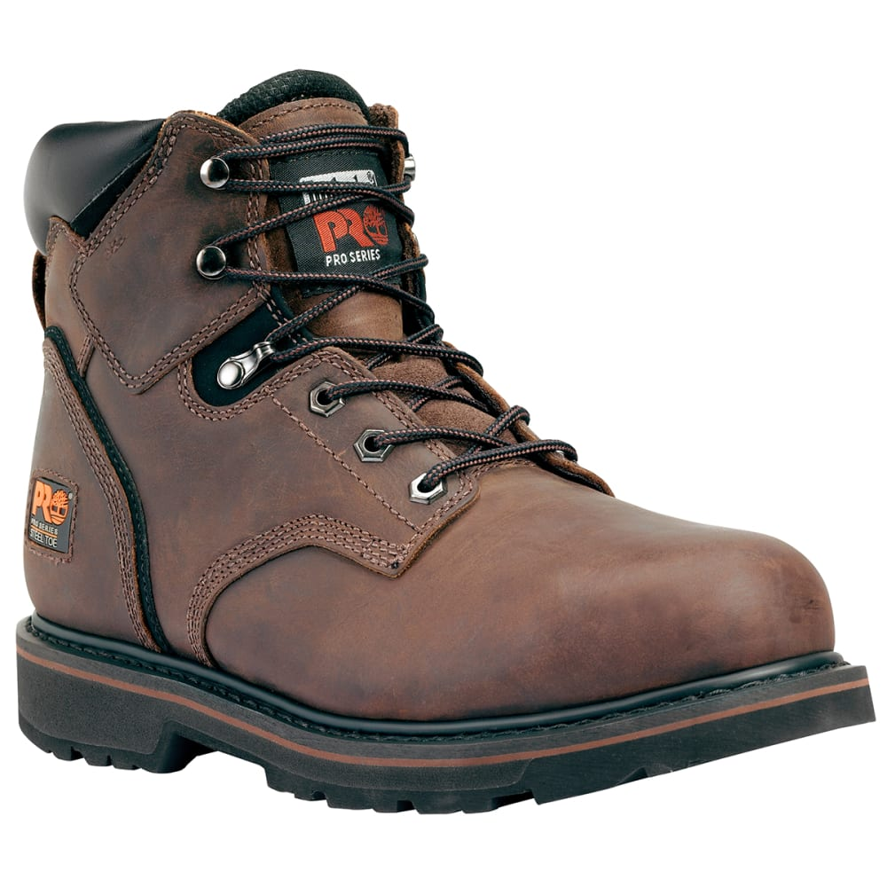 "TIMBERLAND PRO Men's Pit Boss 6"" Welted Steel Toe Work Boots, Wide 8"